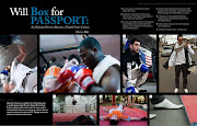 The boxing photos of dead bombing suspect Tamerlan Tsarnaev that are .