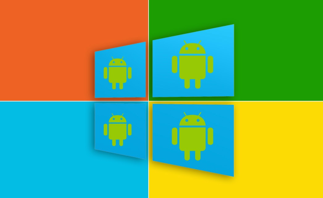 Android apps to run on Windows???