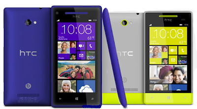 Review dan Spesifikasi HTC Windows Phone 8X dan HTC Windows Phone 8s