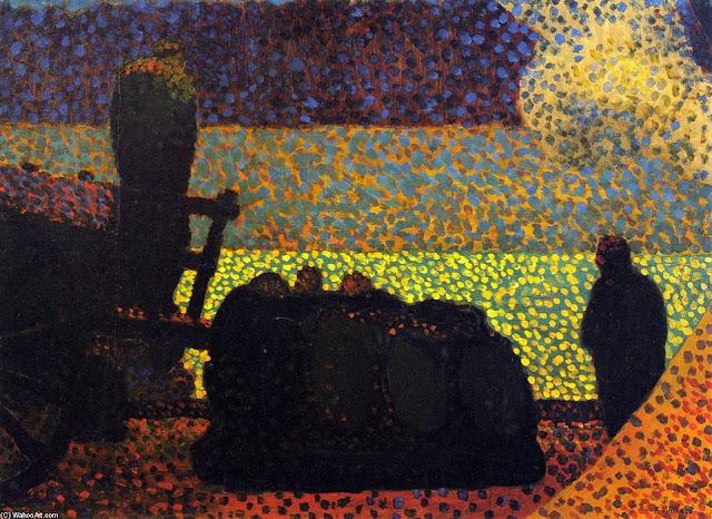 Les débardeurs de Edouard Vuillard, 1890