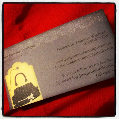 JustJasmineBoutique business card
