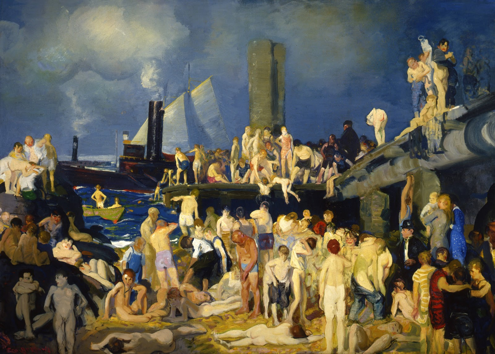 the life and works of george bellows a painter On march 16 a retrospective devoted to the works of american painter george bellows  painting of live subjects and  world socialist web site.