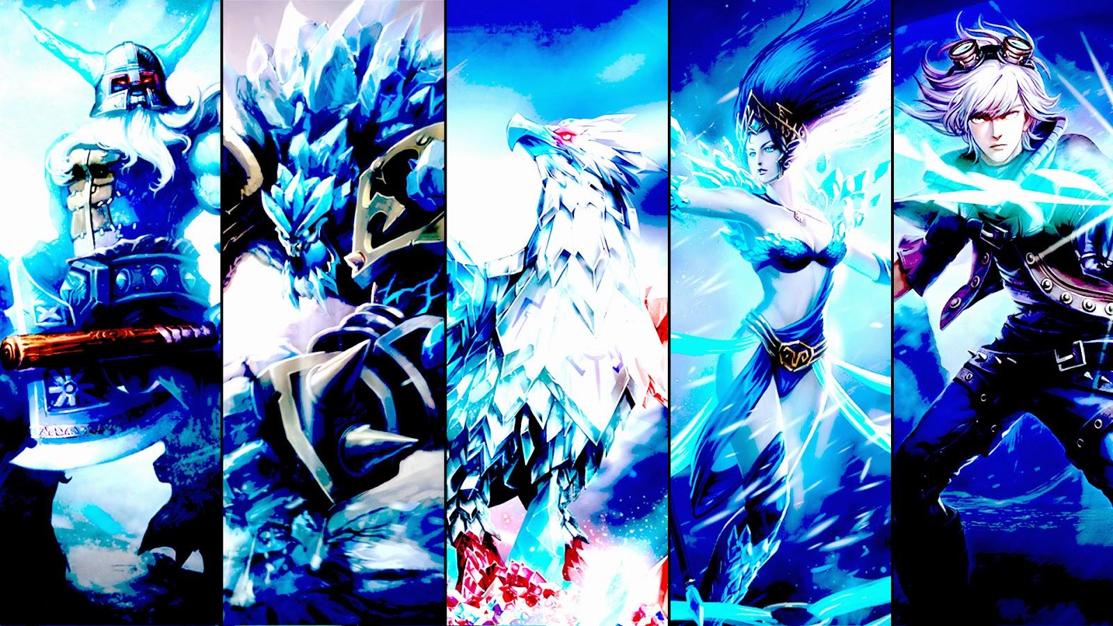 League of Legends Team Wallpaper
