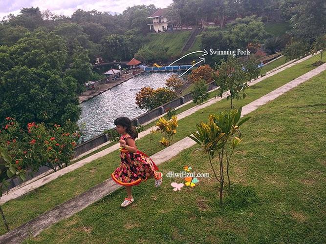 dzilly,jalan jalan ke Taman nermada lombok