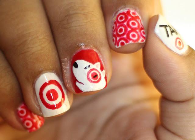 target nails, target dog