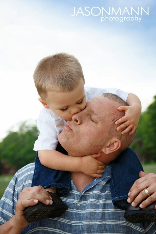 Door County Family Portraits, Father and Son Portrait