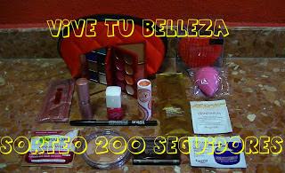 VIVE TU BELLEZA - SORTEO 200 SEGUIDORES -