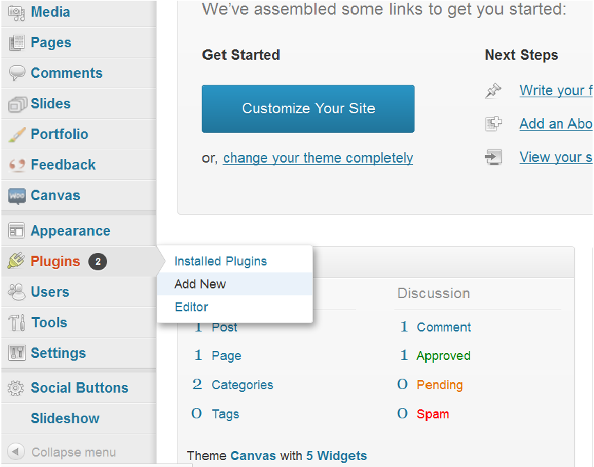 Manage Wordpress Plugins