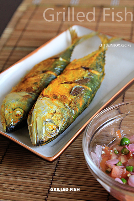 little inbox recipe eating pleasure grilled fish air