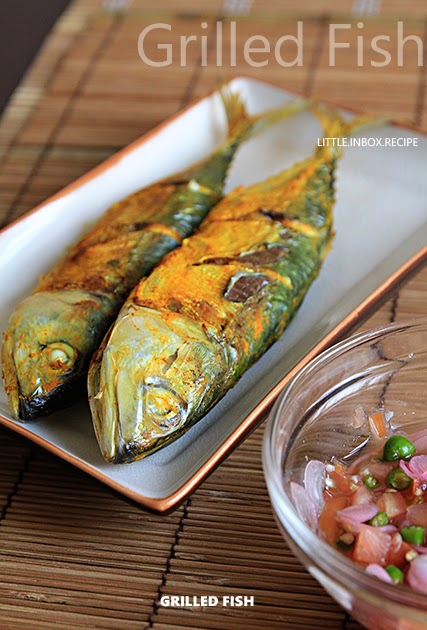 Little inbox recipe eating pleasure grilled fish air for Airfryer battered fish