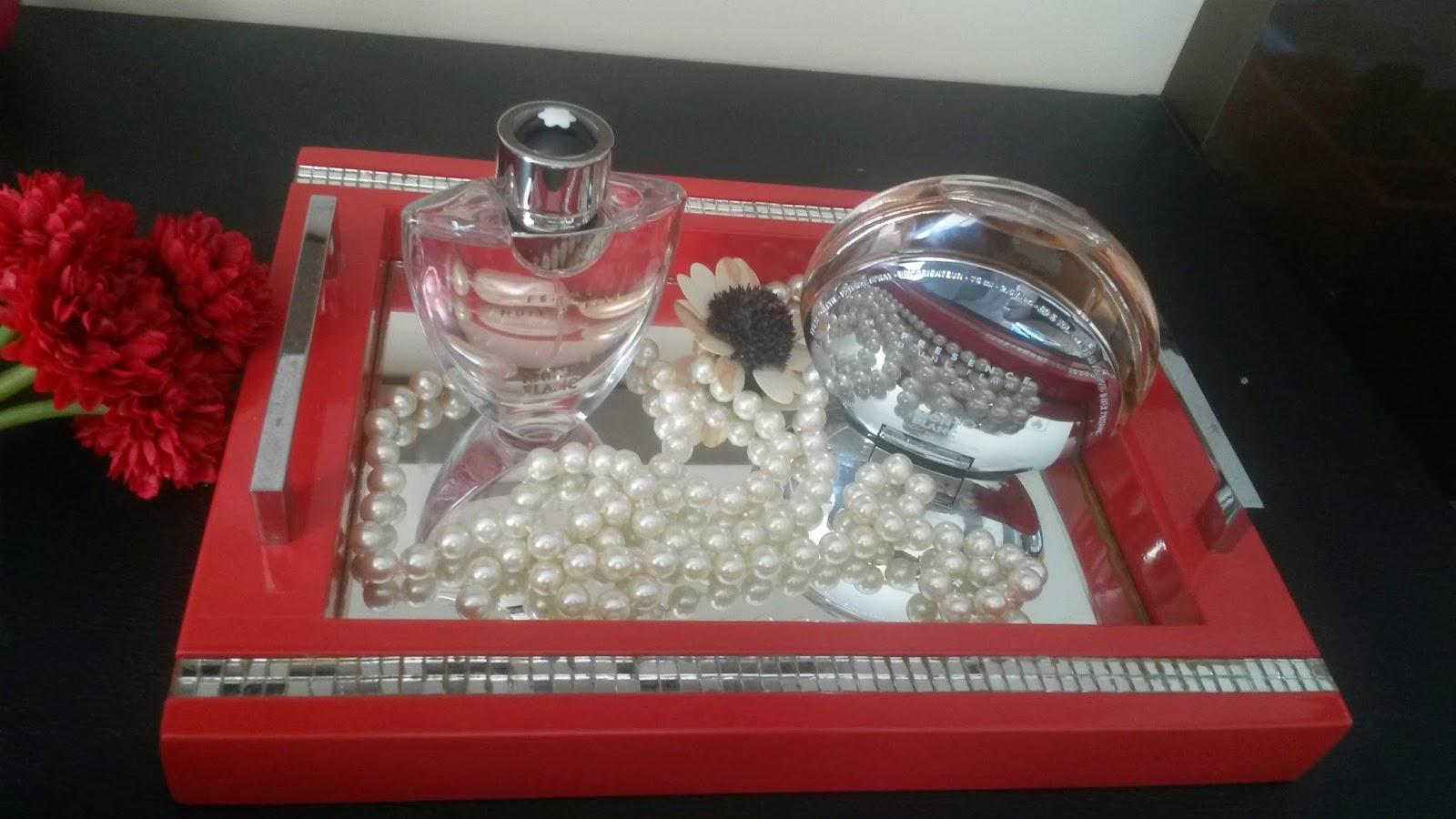 coleção de perfumes