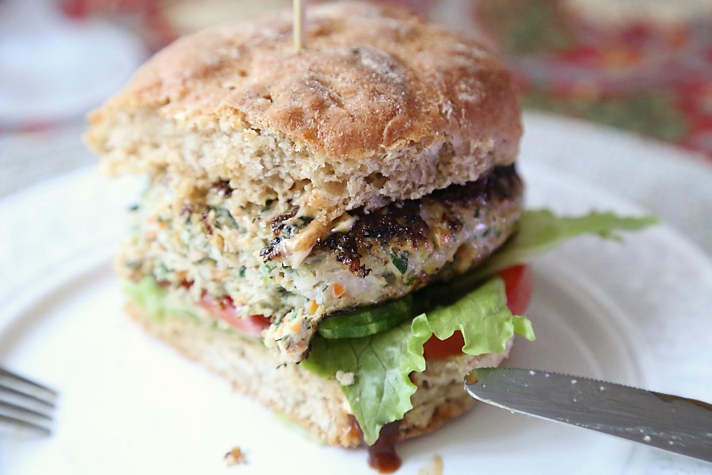 полезный гамбургер рецепт с фото