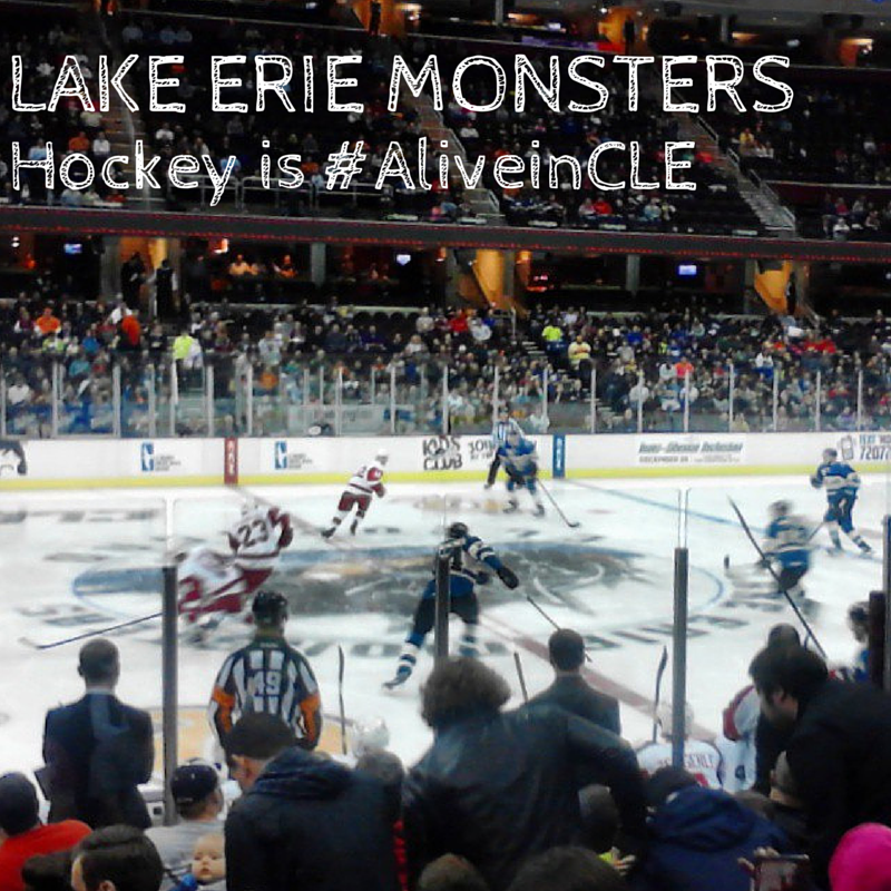 Lake Erie @MonstersHockey is #AliveinCLE