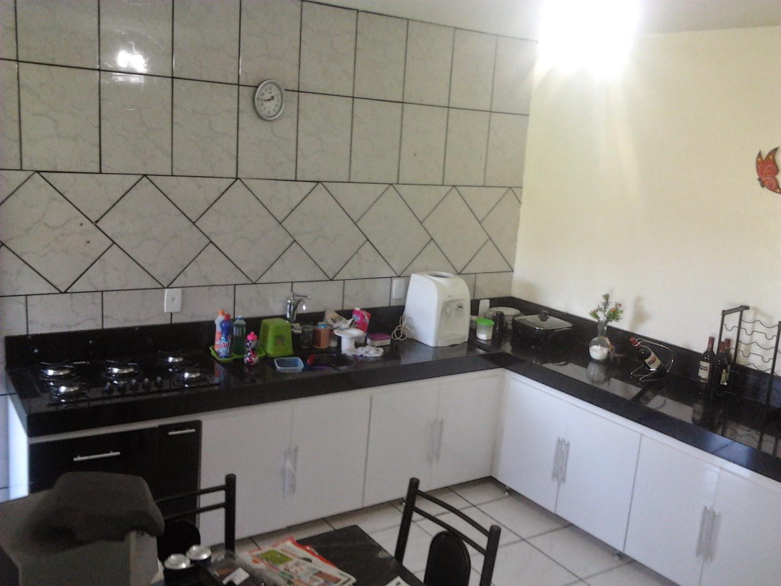 StiloMoveis: ARMÁRIO DE COZINHA INFERIOR EM L ( Branco   Preto  #7B7250 1600 1200