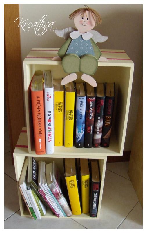 libreria a dimensione di bambino