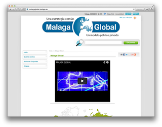 Web Málaga Global