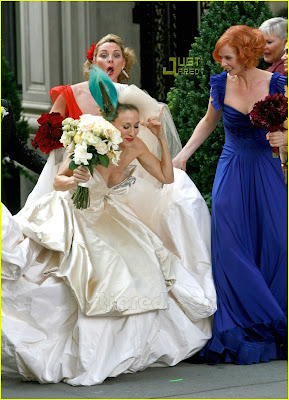 Sarah jessica parker wedding wedding styles for Sarah jessica parker wedding dress