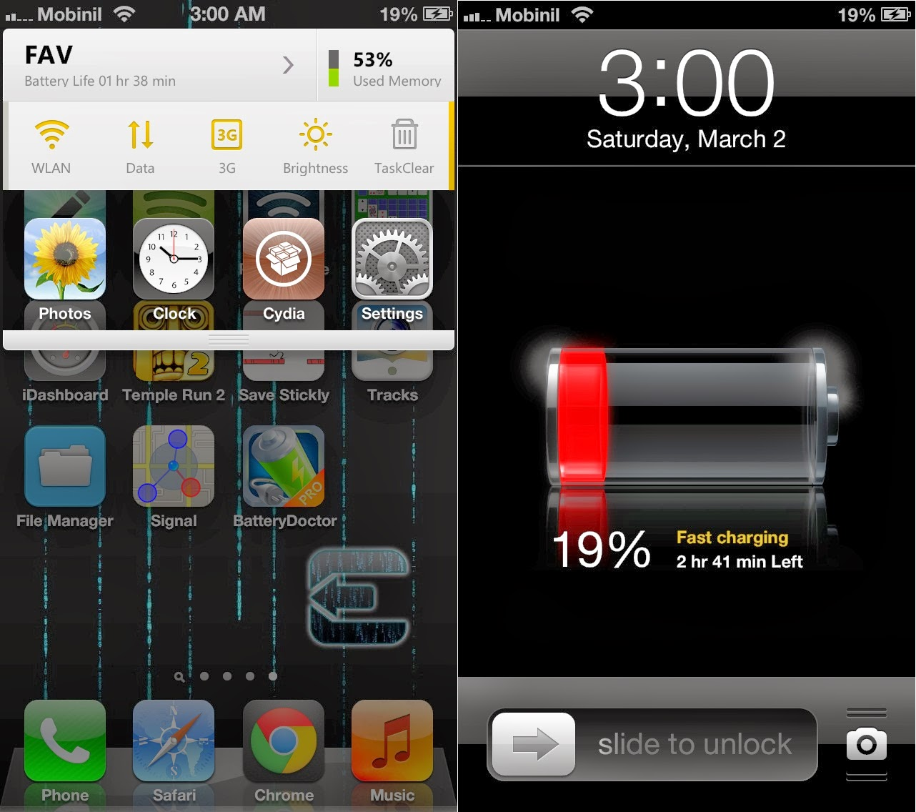 Battery the below is the way to save battery of iphone when it is low