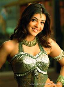 kajal aggarwal very sexy costume magadheera movie