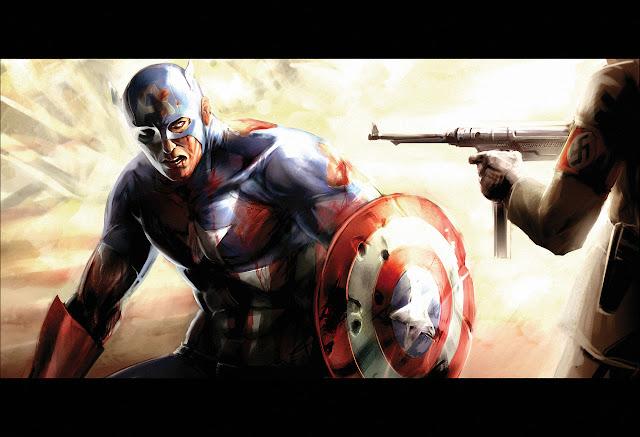 Captain America por AGNakamura