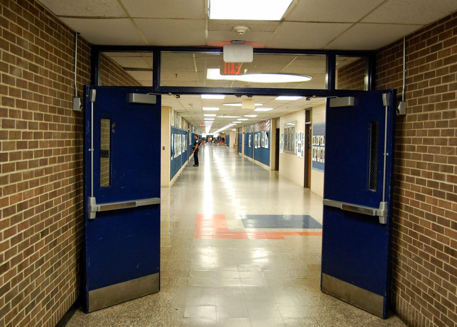 almost empty corridor