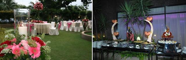 wedding on the lawn