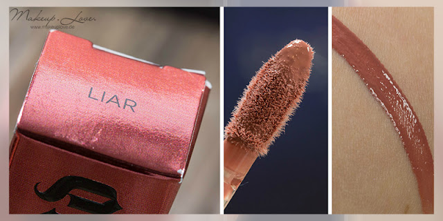 Urban Decay Summer Launches 2015 Revolution High-Color Lipgloss Liar Swatch