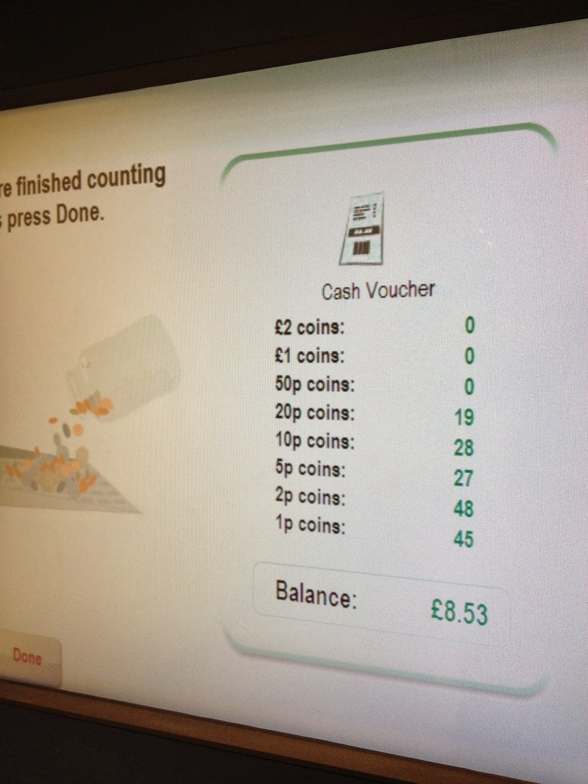 coinstar machine cost