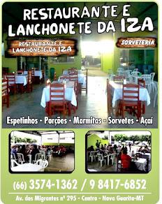 Agora em Nova Guarita você pode contar com Restaurante e Lanchonete Iza,