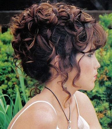 De todo para tu belleza peinados para novias - Peinados de fiesta con rizos ...
