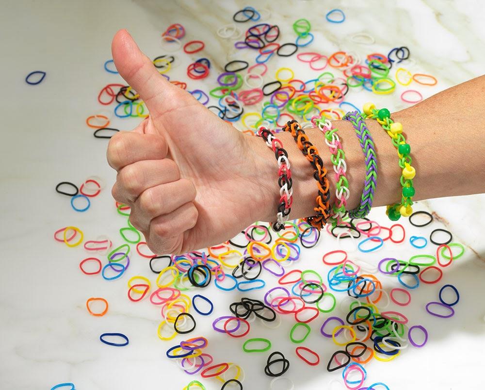 No Loom Rubber Band Bracelets