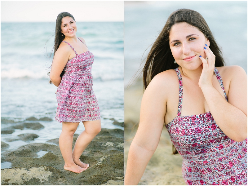 palm beach county florida senior portrait