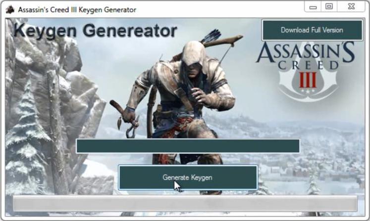 Название Keygen для assassins Язык интерфейса Русский Лицензия.