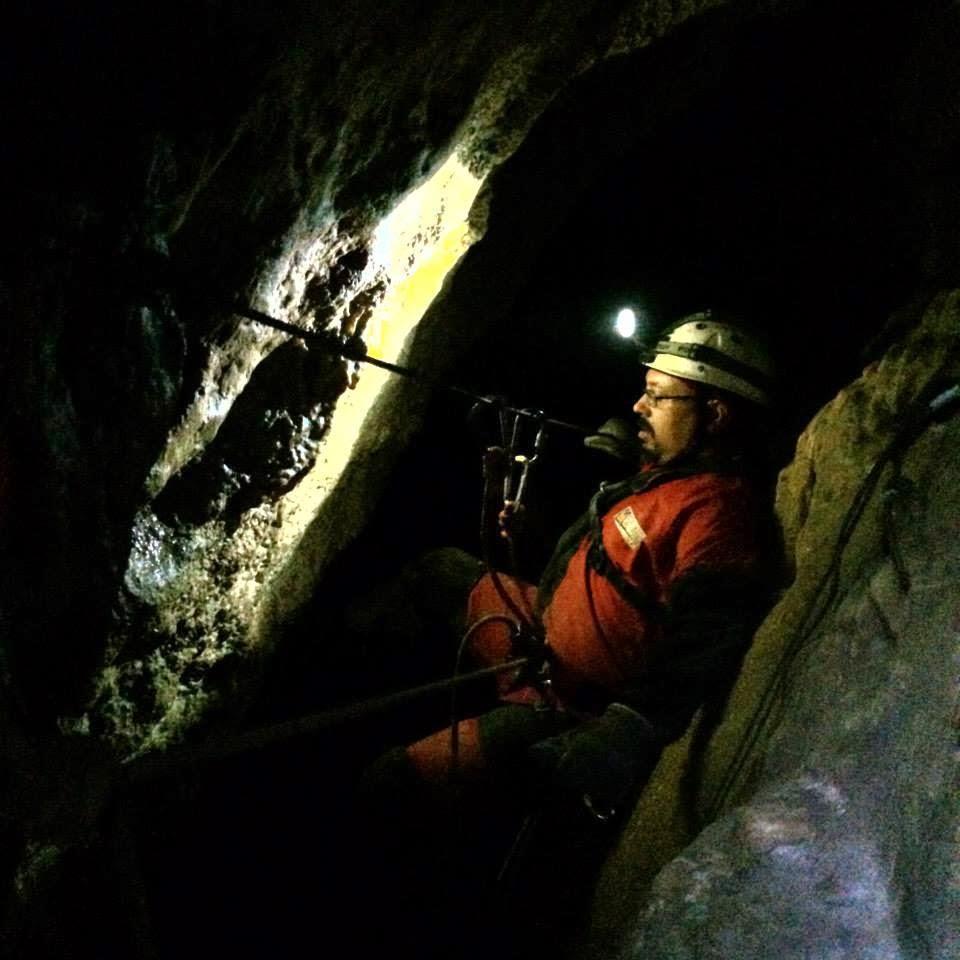 Club de monta a rumbo norte jaen cueva de pagarrecio - Pasamanos de cuerda ...