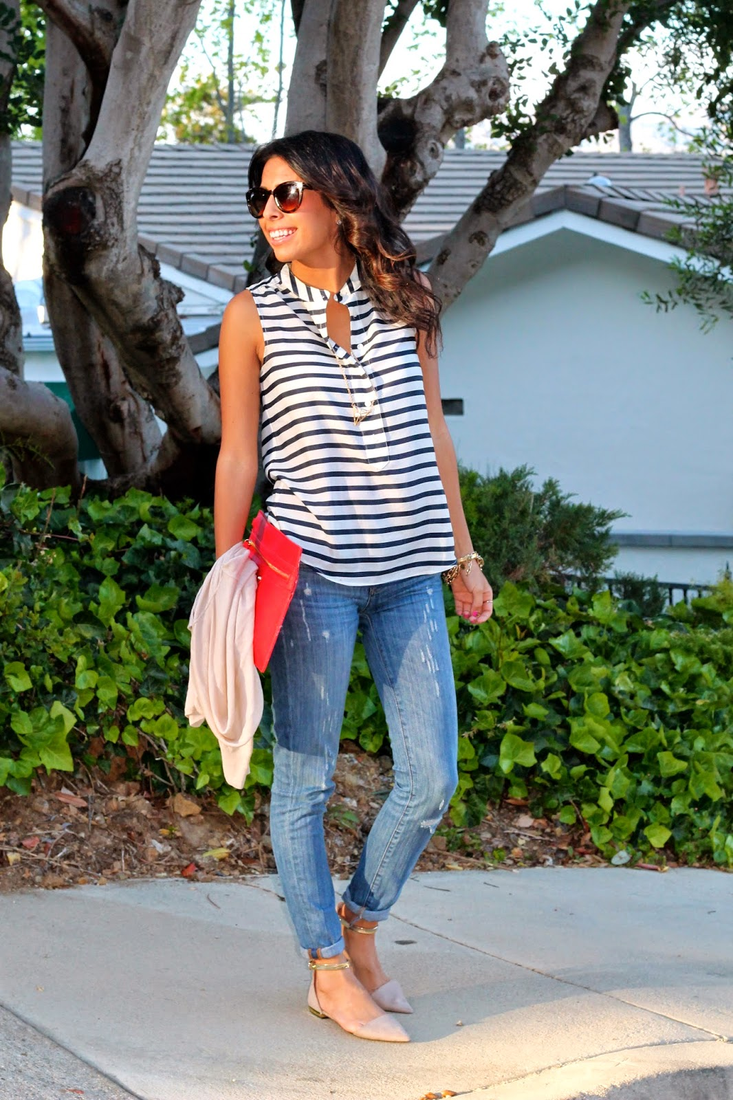 nautical outfit zara jcrew