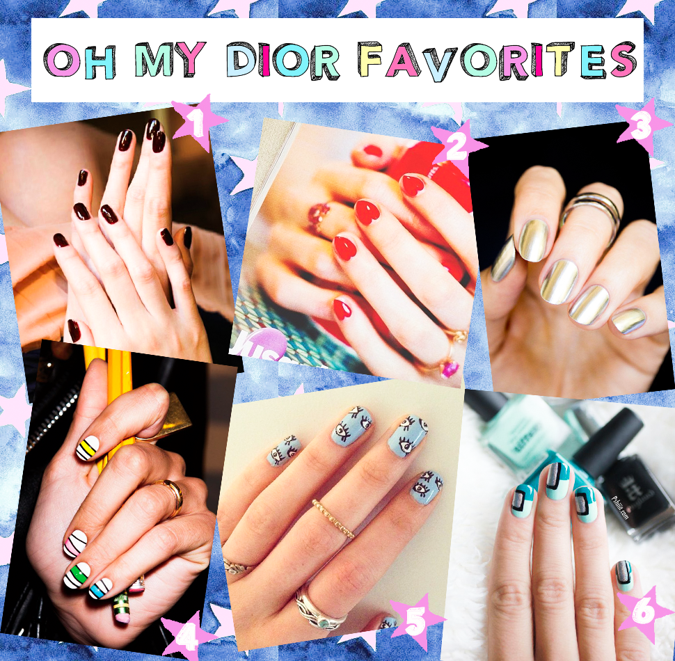 oh my dior Nails Trends 2014