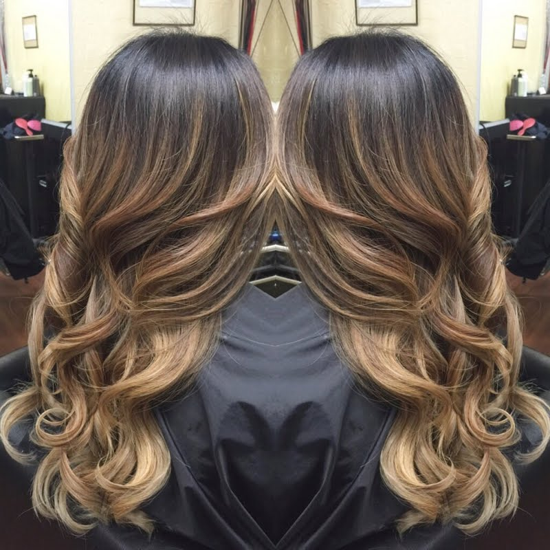 Glitters gold what is balayage for What does ombre mean