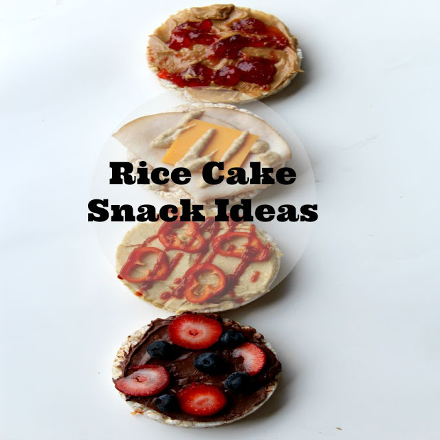 rice cake snack ideas