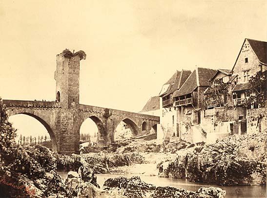 Farnham Maxwell-Lyte - Pont d'Orthez, Basses-Pyrénées, c. 1858