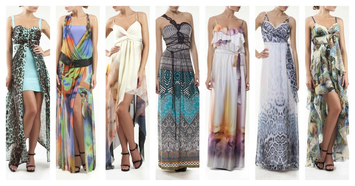 Модели летних платьев и сарафанов 1