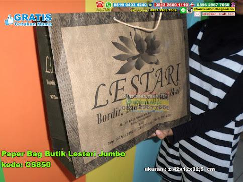 Paper Bag Butik Lestari Jumbo