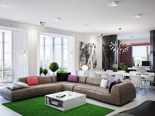 Spacious Interior Design For Apartment Photo