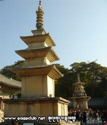 SEOKGA PAGODA  釋迦塔