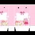 Peppa Pig con Perrito: Bolsas de Papel para Imprimir Gratis.