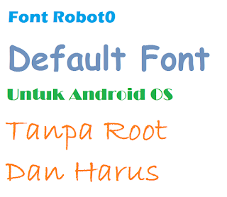 Cara Mengembalikan Font Bawaan Android