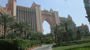 . went on an adventure by ourselves and after visiting the souk took a cab . (dubai atlantis )