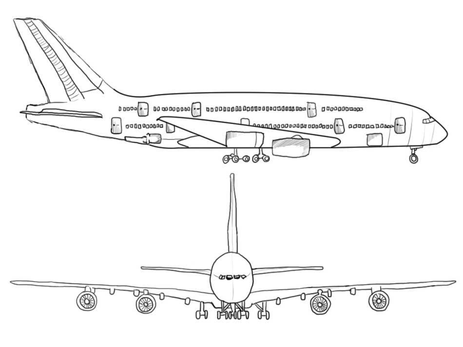 a380 coloring pages a380 free coloring pages