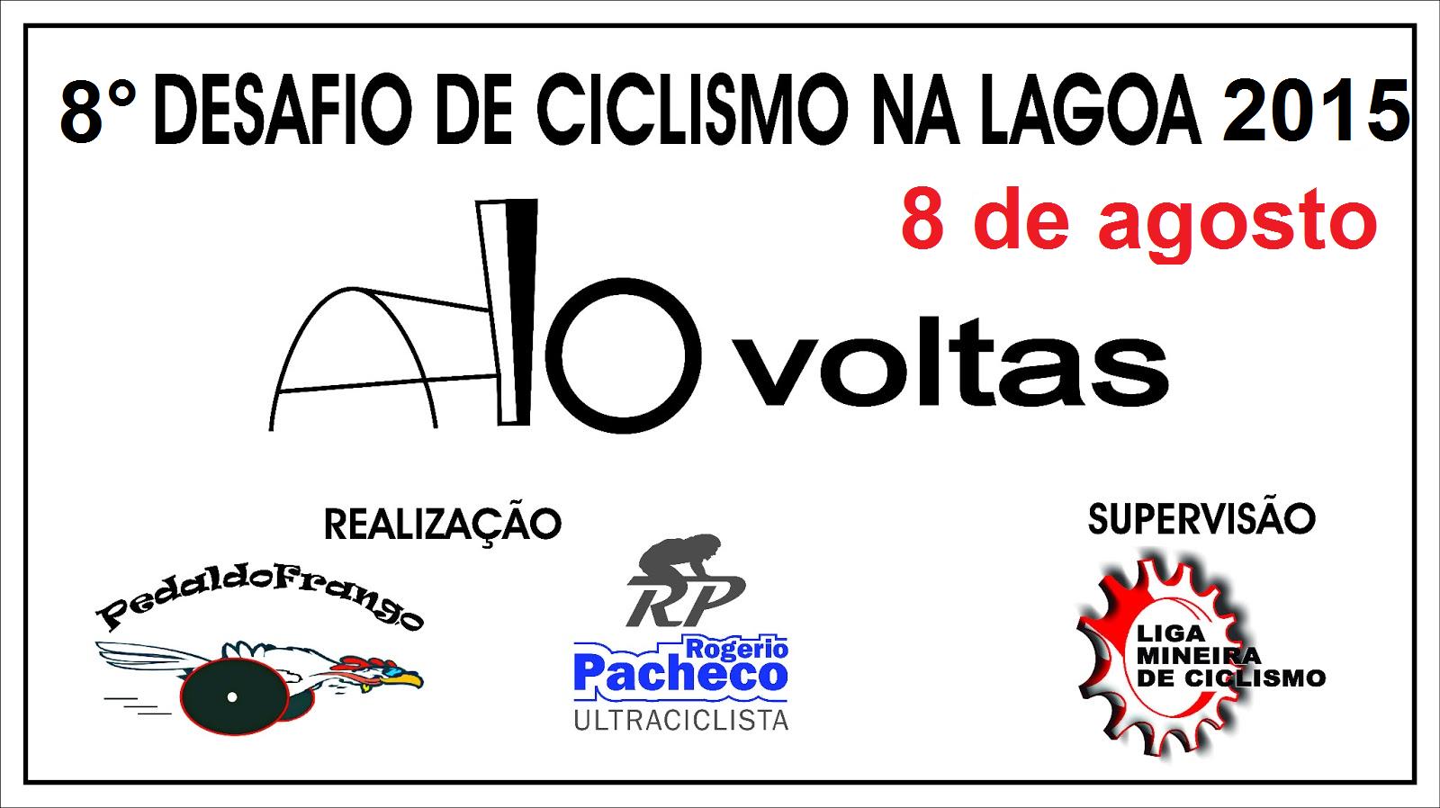 8° Desafio 10 Voltas de Ciclismo na Pampulha