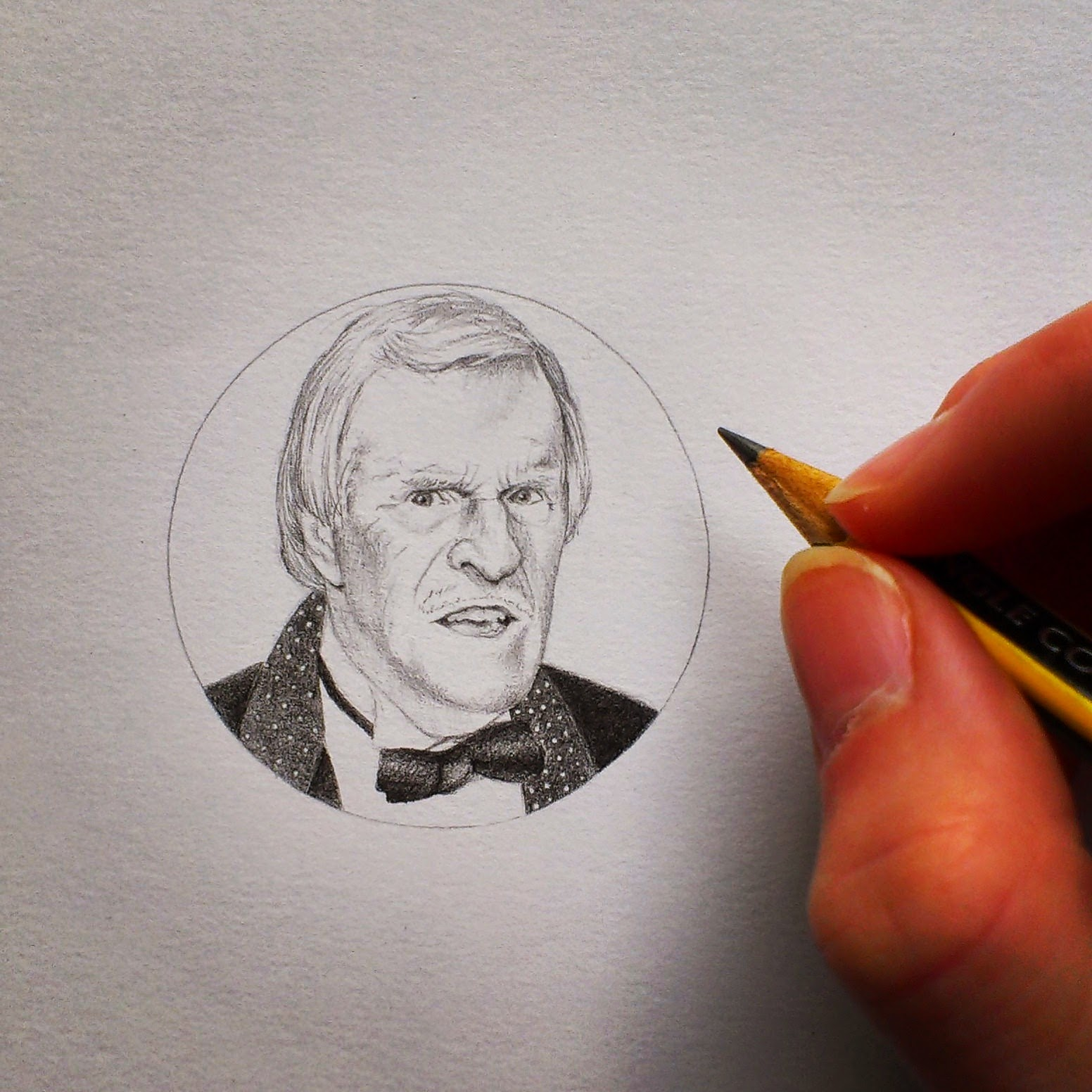 Bruce forsyth drawing