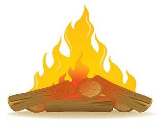 foc pe lemne